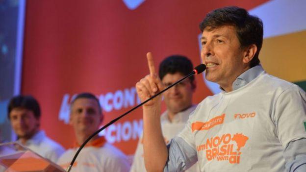 João Amoêdo se lançando candidato