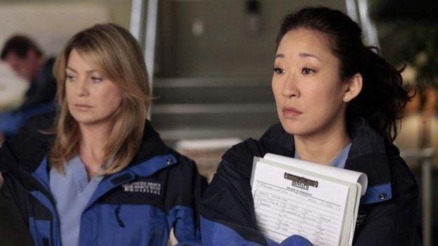 Meredith Gray y Cristina Yang