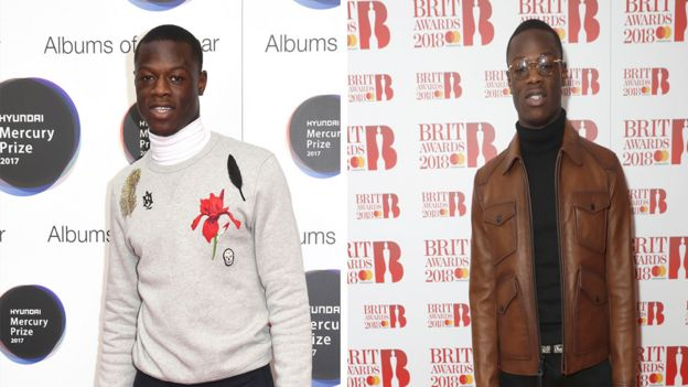 J Hus at the Mercury and Brit Awards