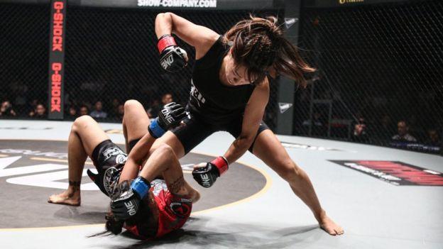 Phụ nữ cũng tham gia One Championship