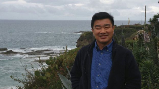 Tony Kim, one of the three Americans being held captive by North Korea, is seen in this handout photo taken in California in 2016, released to Reuters by the family of Tony Kim March 11, 2018.