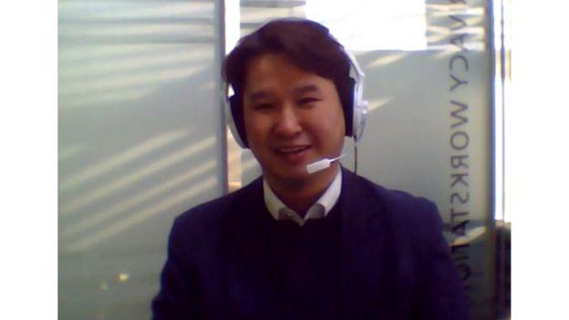 Profesor Kim Jong-Yeon en Daegu, Corea del Sur.