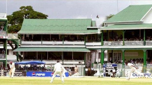 Bourda Cricket Ground in Georgetown, Guyana