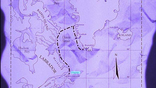 Mapa con el viaje marcado