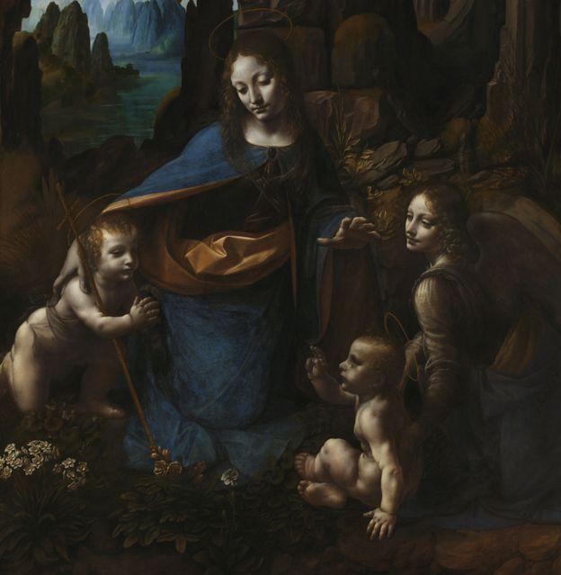 اثرهنری پنهان لئوناردو داوینچی راز خود را فاش کرد نیل اسمیت،بیبیسی
