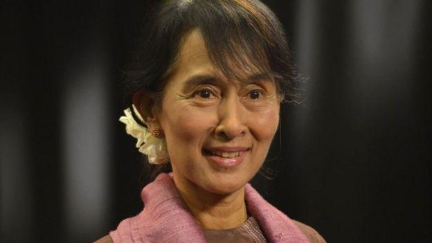 أونغ سان سوكي، 2012