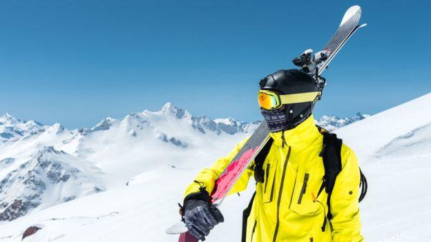Esquiador en Andorra