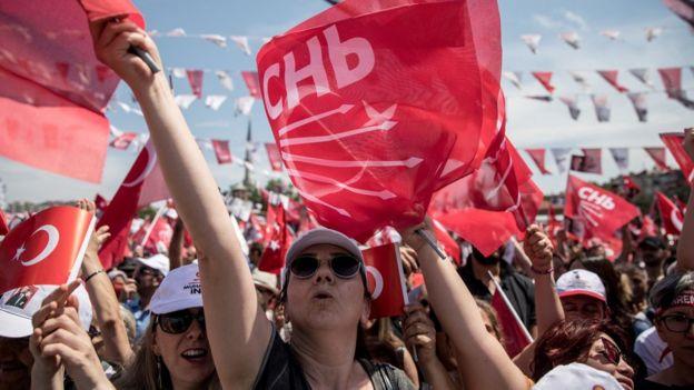 CHP destekçileri