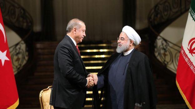 رجب طیب اردوغان در تهران: در عراق، مخاطب ما دولت مرکزی است