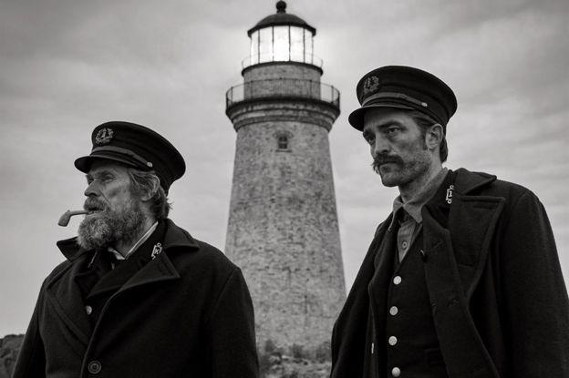 Willem Dafoe ve Robert Pattinson The Lighthouse