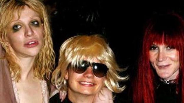 Courtney Love, Savannah Knoop e Laura Albert