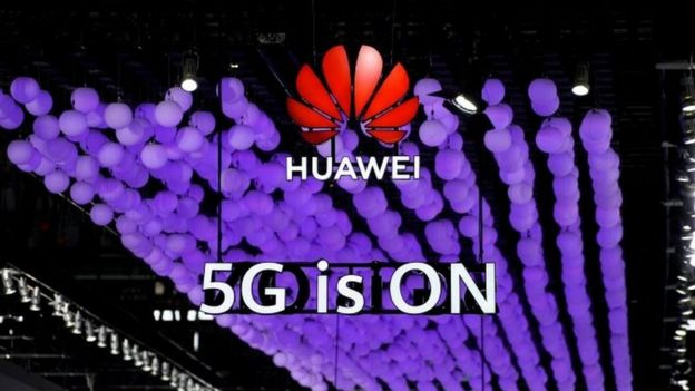 Huawei 5G stand