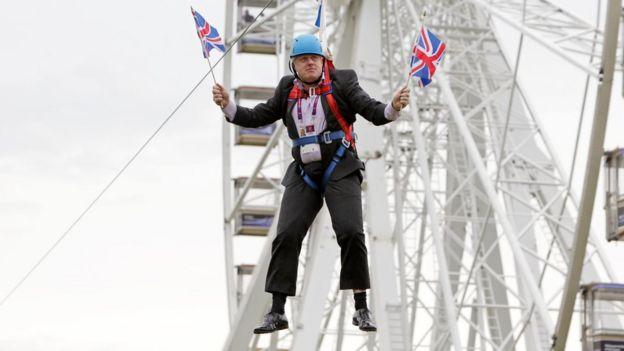 Boris Johnson, London Olympics, Pemilu Inggris