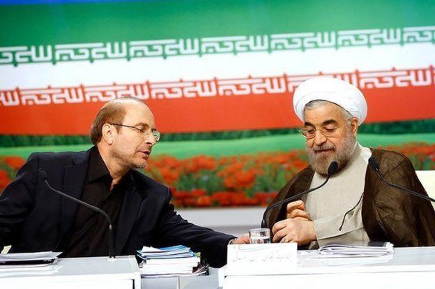 حملات تند قالیباف علیه روحانی از چند هفته پیش آغاز شده است