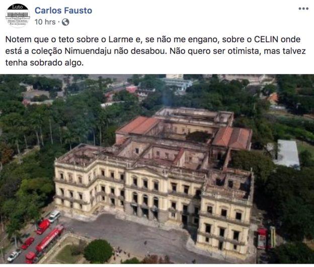 Post de Carlos Fausto