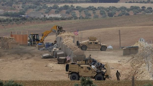 Suriye'de YPG kontrolündeki bazı bölgelerde ABD üsleri var