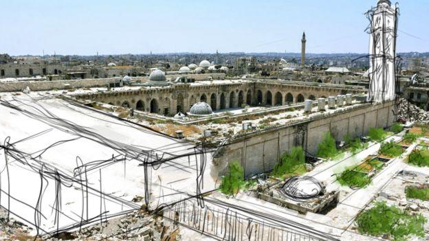 الجامع الأموي الكبير في حلب