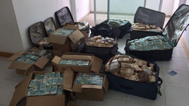 Malas de dinheiro de Geddel Vieira Lima