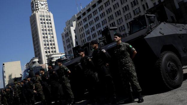 Exército no Rio