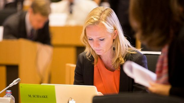 ALDE'nin Hollandalı temsilcisi Marietje Schaake