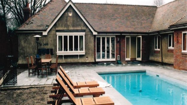 Pool at Roydon crime scene