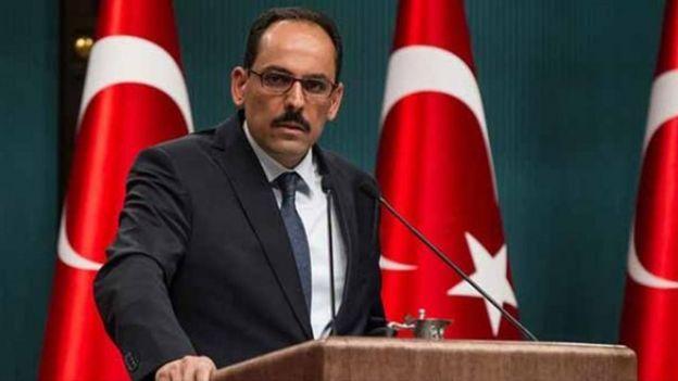 Cumhurbaşkanı Recep Tayyip Erdoğan'ın başdanışmanı İbrahim Kalın