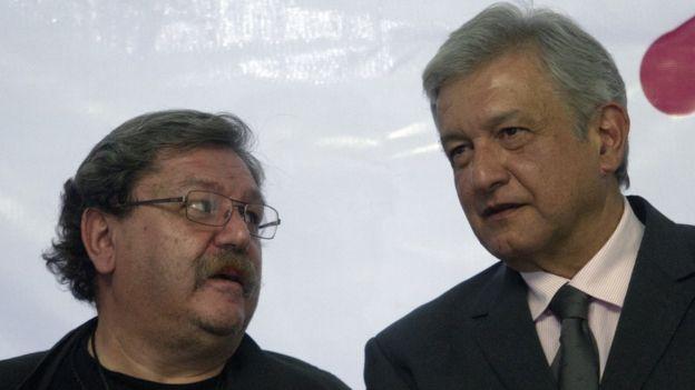 Taibo II y López Obrador