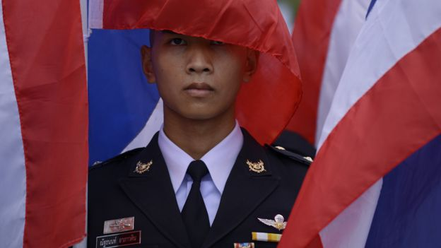 Thailand has been ruled by the military since a coup in 2014