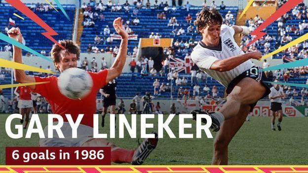 ১৯৮৬ সালের বিশ্বকাপে ৬ গোল দিয়েছিলেন গ্যারি লিনেকার