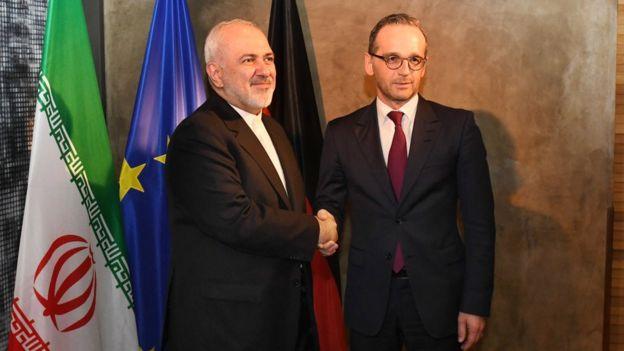 آقای ظریف در حاشیه کنفرانس مونیخ با هایکو ماس، وزیر خارجه آلمان دیدار کرد