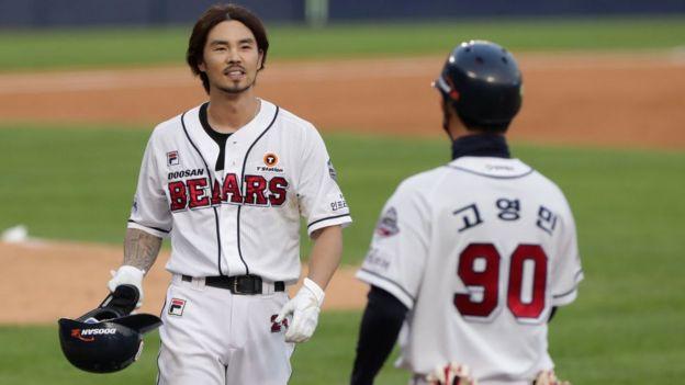 Бейсбольная игра в Сеуле