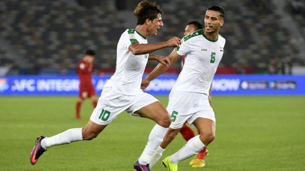Iraq gỡ hòa 1-1