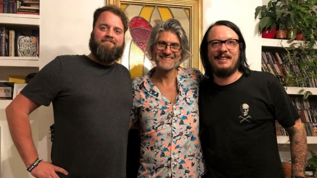 Brad Acton, Eddy Temple-Morris and Nick Hogden