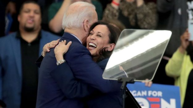 Senator Kamala Harris at Biden rally