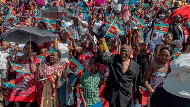 人口約110萬的斯威士蘭,是非洲唯一的君主專制國。