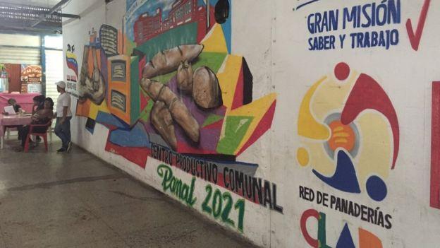 Mural de la comuna Panal 2021.