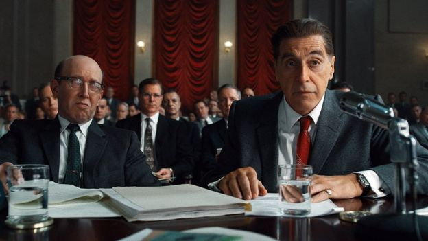 Hoffa'yı oynayan Al Pacino