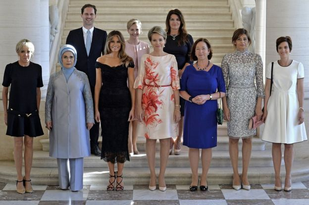Spouses of Nato leaders, 25 May