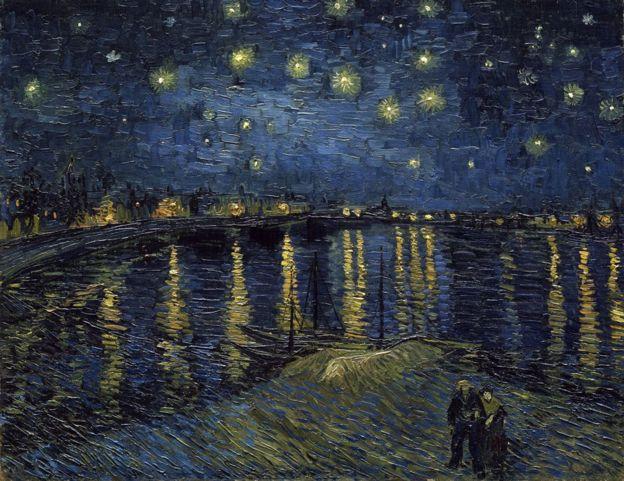Noite estrelada de Vincent Van Gogh