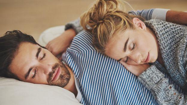 Спящая пара