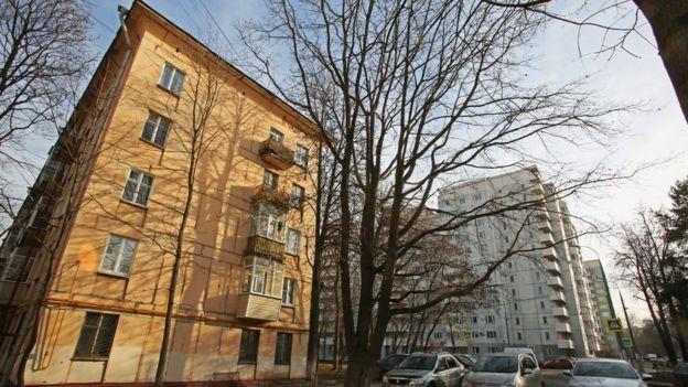 Хрущевка в Москве