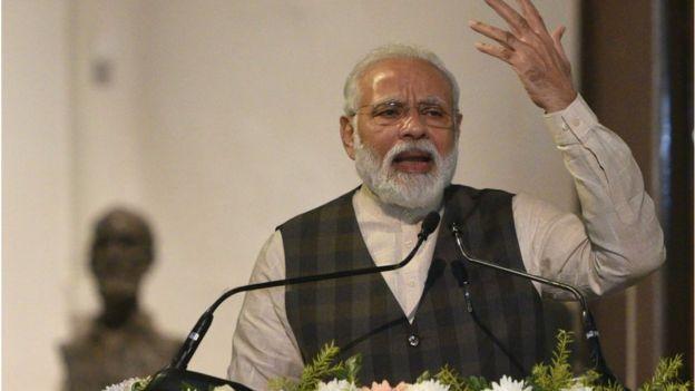 নরেন্দ্র মোদি: 'এনআরসি সম্পর্কে তরুণদের ভুল বোঝানো হচ্ছে'