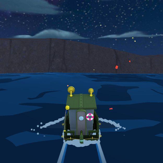 Imagem do jogo Sea Hero Quest, que pesquisadores têm usado para obter dados em busca de diagnóstico precoce para demência