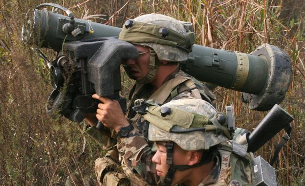 Anti-tank training in South Korea, 2006