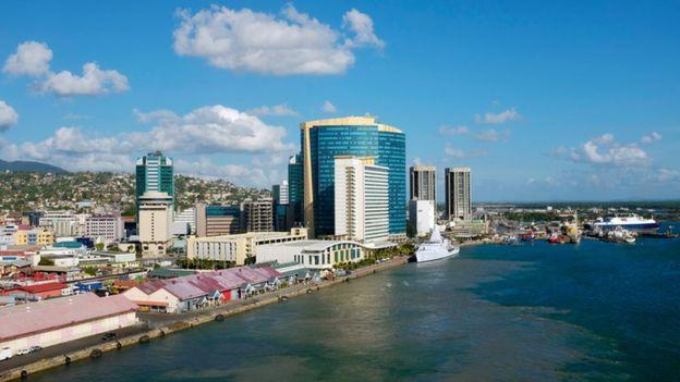 Puerto España en Trinidad y Tobago.