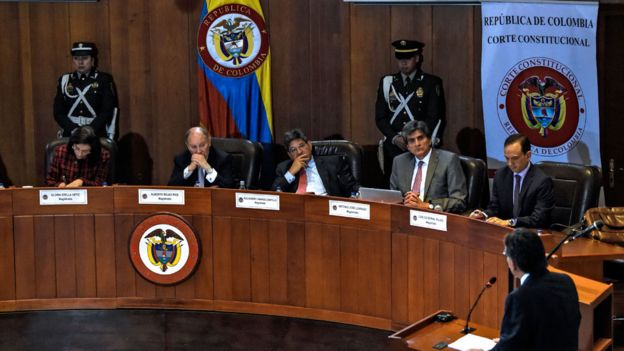 Tribunal Constitucional da Colômbia