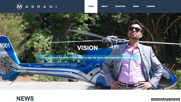 Masrani website
