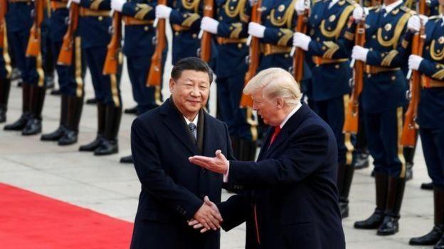 Xi e Trump