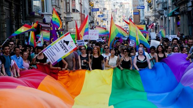 738d37795 Pride clothing made in countries where being gay is illegal - BBC News