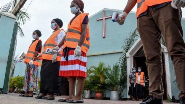 Молитва в Танзании
